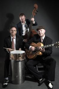 Jazz band - taken in the studio in Leeds city centre